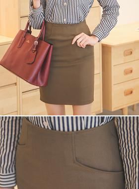 ベーシックポケットスパンスカート