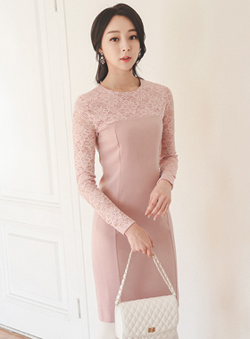 イリュージョンレイスドレス