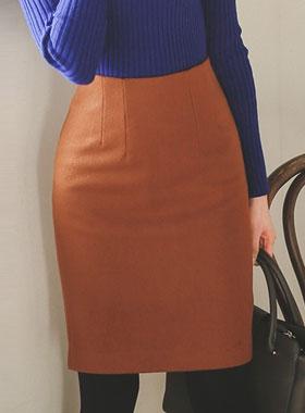 ウィンターウールウールHラインスカート