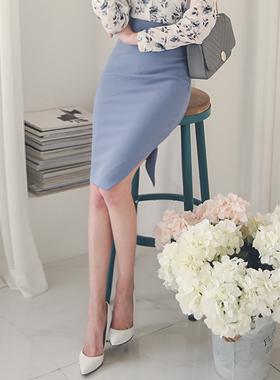 斜線切開オンバルひらきスカート