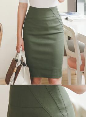 ピースステッチナチュラルスカート