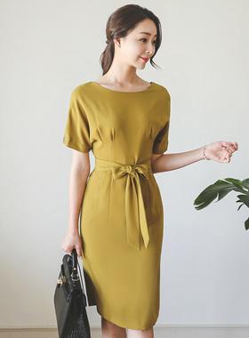 モナコのダーツボリュームドレス