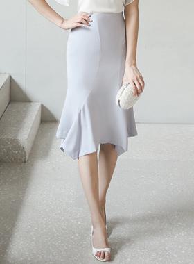 高アドラッフルマーメイドスカート