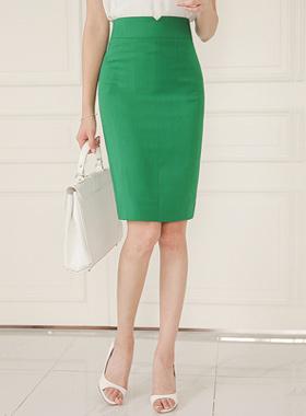 VのひらきダーツHラインスカート