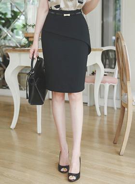 斜線フェプラムHラインスカート