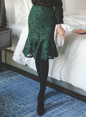 プルレルレイスマーメイドスカート