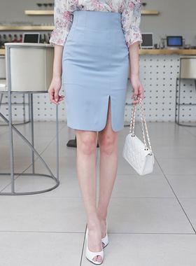 ハイウエストラウンドひらきスカート