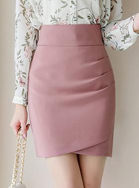ミューズドレープシャーリングスカート
