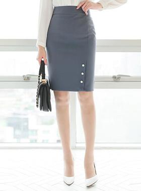 トリプル真珠ポイント切開スカート