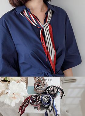 ミックスストライプスカーフ