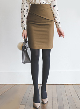 チューリップフェプラムHラインスカート(winter)