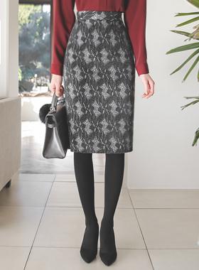 グルーイングレイスバックバンドスカート