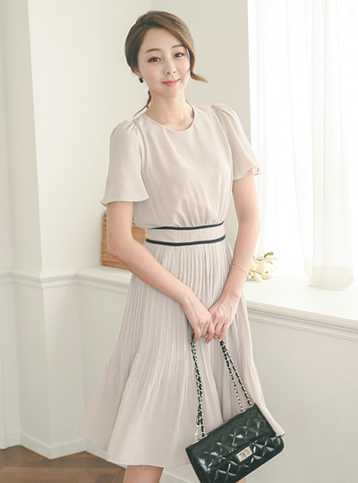 アンナバイアスプリッツドレス