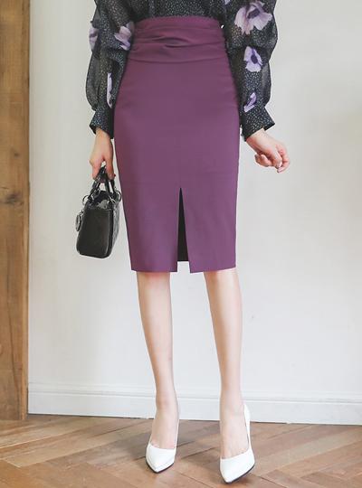 グラム シャーリング スリット 弾力 スカート